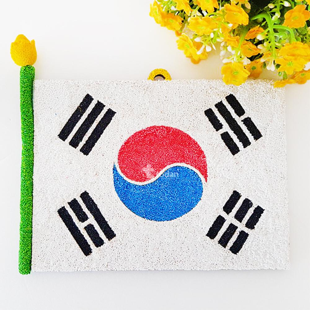 클레이 우드 태극기액자 만들기 - 1인세트