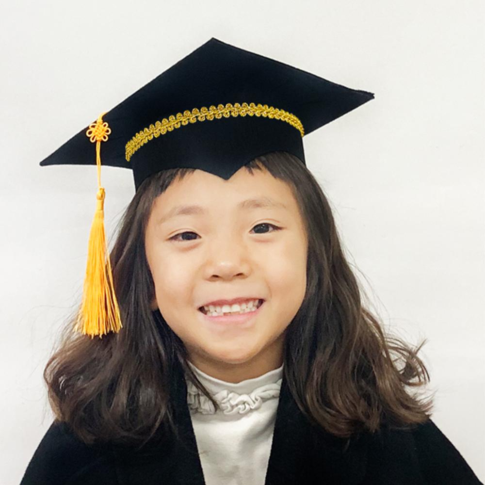 졸업 학사모 만들기 - 5인세트